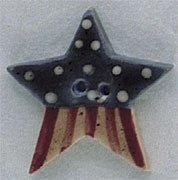 86229 - Old Star Flag 5/8in x 5/8in - 1 per pkg
